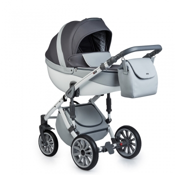 Коляска ANEX SPORT 4 в 1 с базой Isofix, Q1 (Sp15) gray cloud