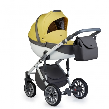 Коляска ANEX SPORT 4 в 1 с базой Isofix, Q1 (Sp18) yellow stone