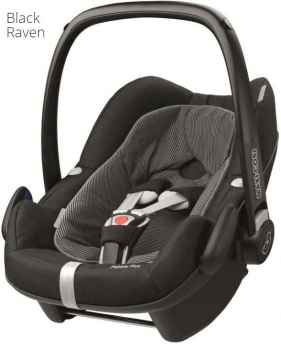 Автокресло Maxi Cosi Pebble Plus (0 - 13 кг), Black Raven