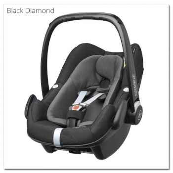 Автокресло Maxi Cosi Pebble Plus (0 - 13 кг), Black Diamond