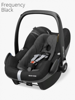 Автокресло Maxi Cosi Pebble Plus (0 - 13 кг), Frequency Black