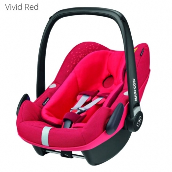 Автокресло Maxi Cosi Pebble Plus (0 - 13 кг), Vivid Red